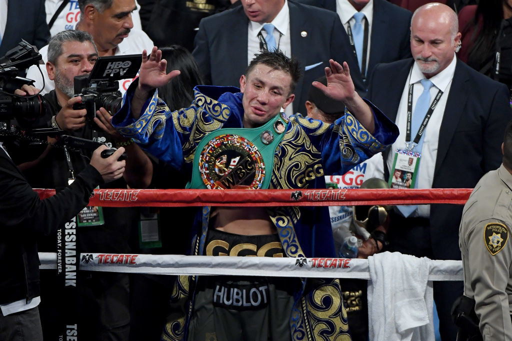 Golovkin hasn't looked quite as rampant in the last nine years.