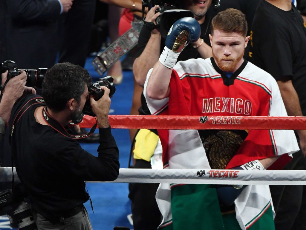 Canelo remains one of the most complete fighters.