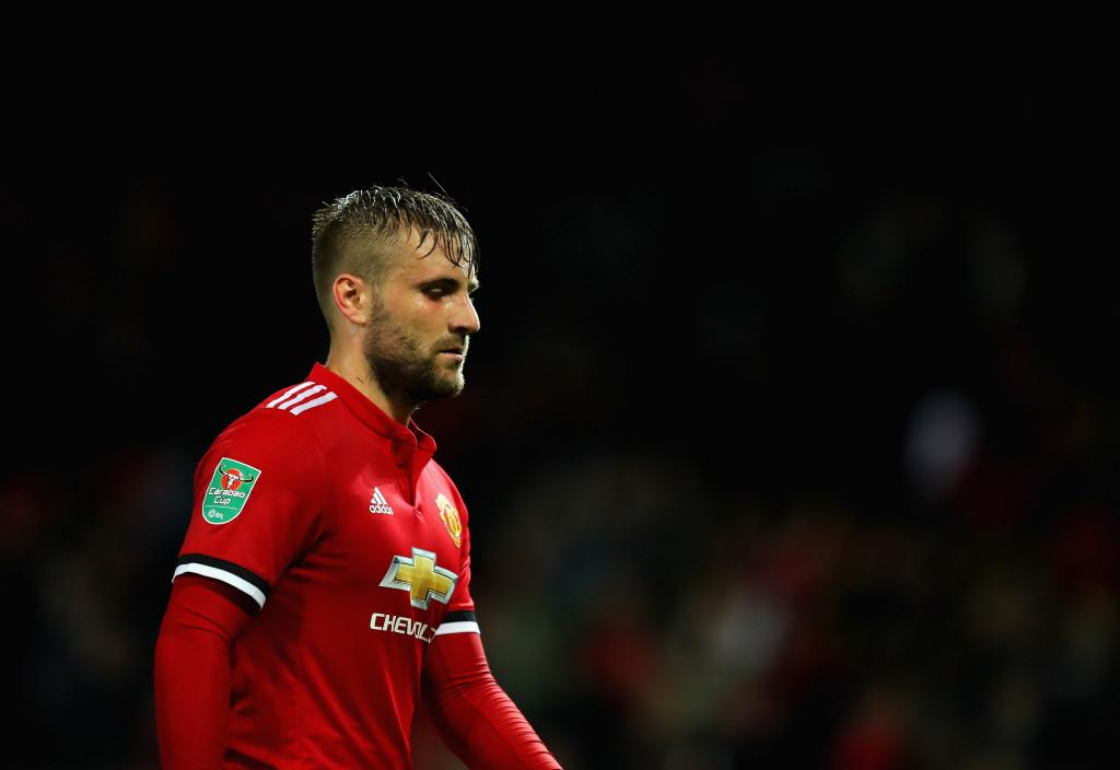 Man United defender Luke Shaw