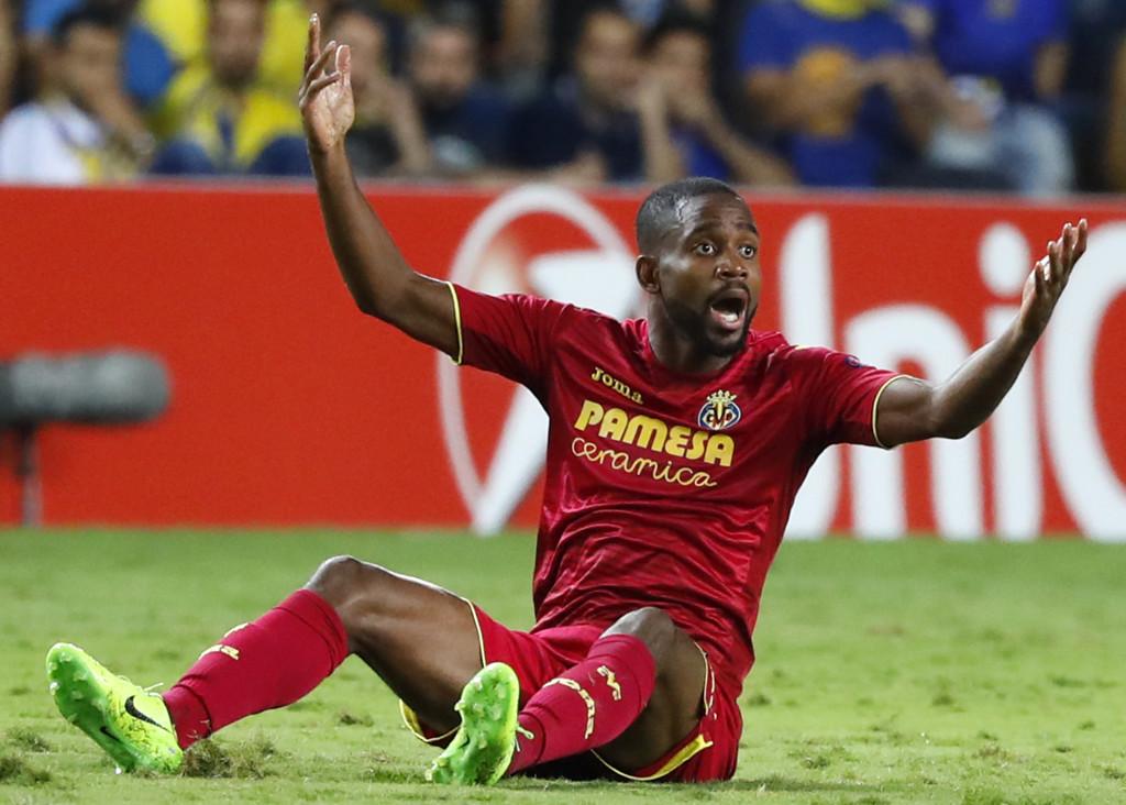 Villareal's Congolese forward Cedric Bakambu