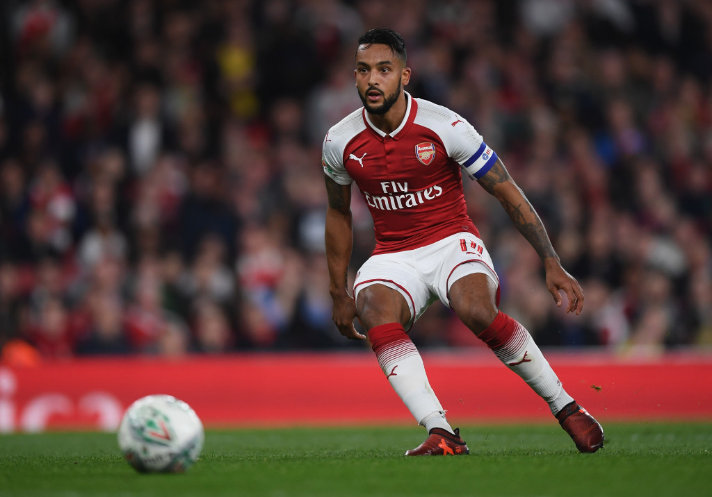 Arsenal attacker Theo Walcott
