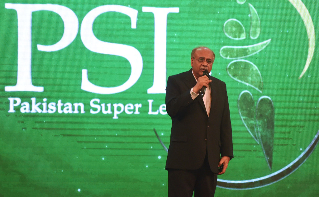 PCB's Najam Sethi had recently filed a claim against the BCCI.