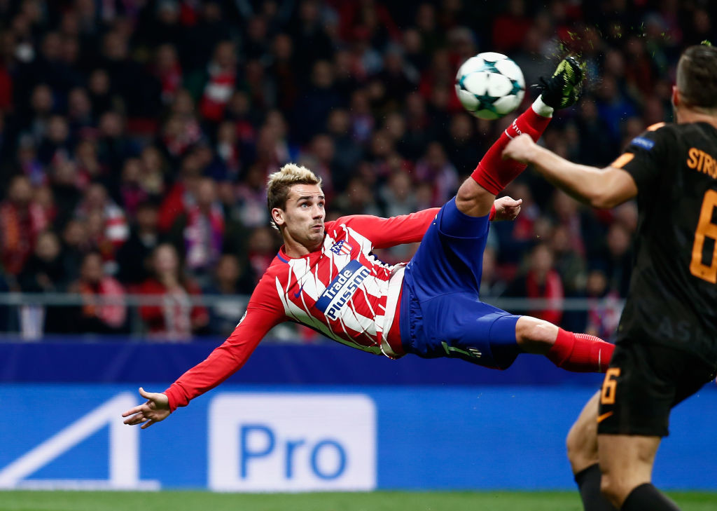 Antoine Griezmann back in form