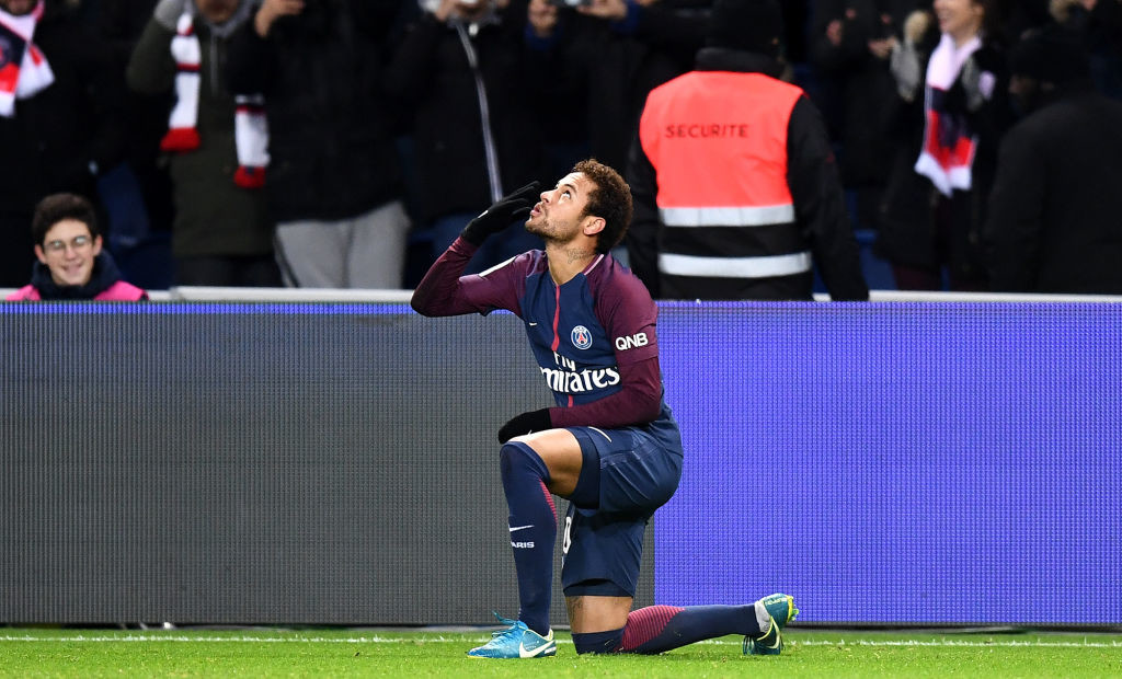 The likes of PSG star Neymar will be serious contenders in 2018.