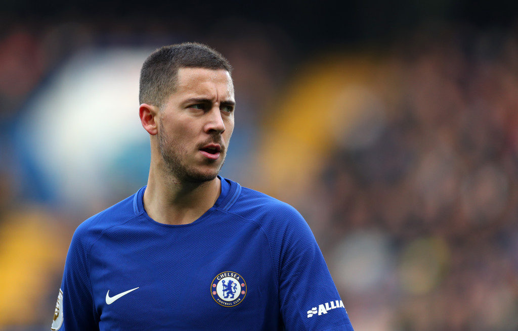 In demand: Eden Hazard.