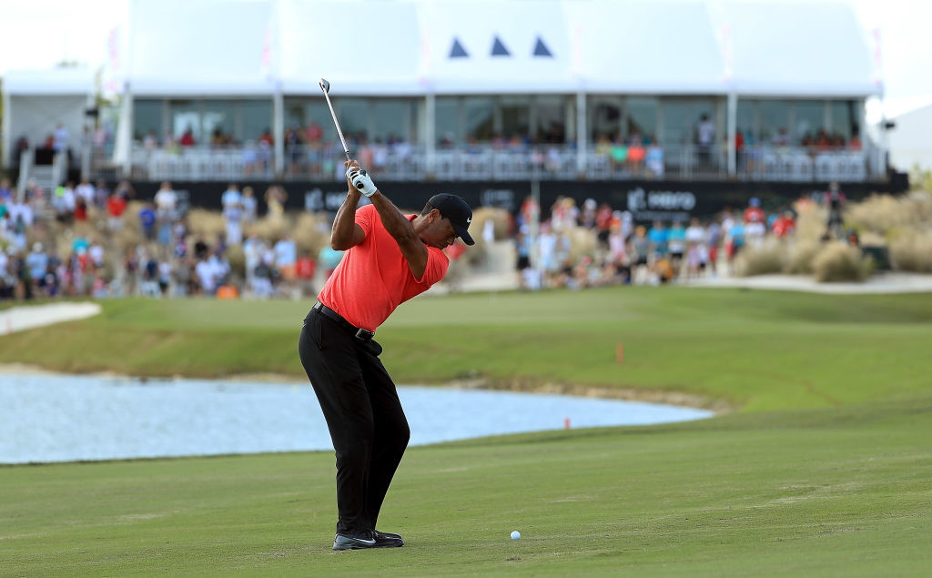 Woods produced a promising performance in Bahamas.