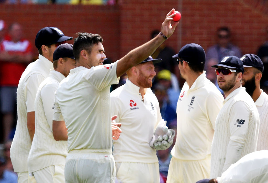 It was Anderson's first five-wicket haul in 30 innings in Australia.