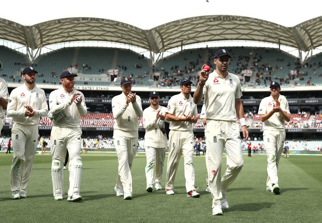 Anderson's 5-43 helped England bowl out Australia for just 138 runs.