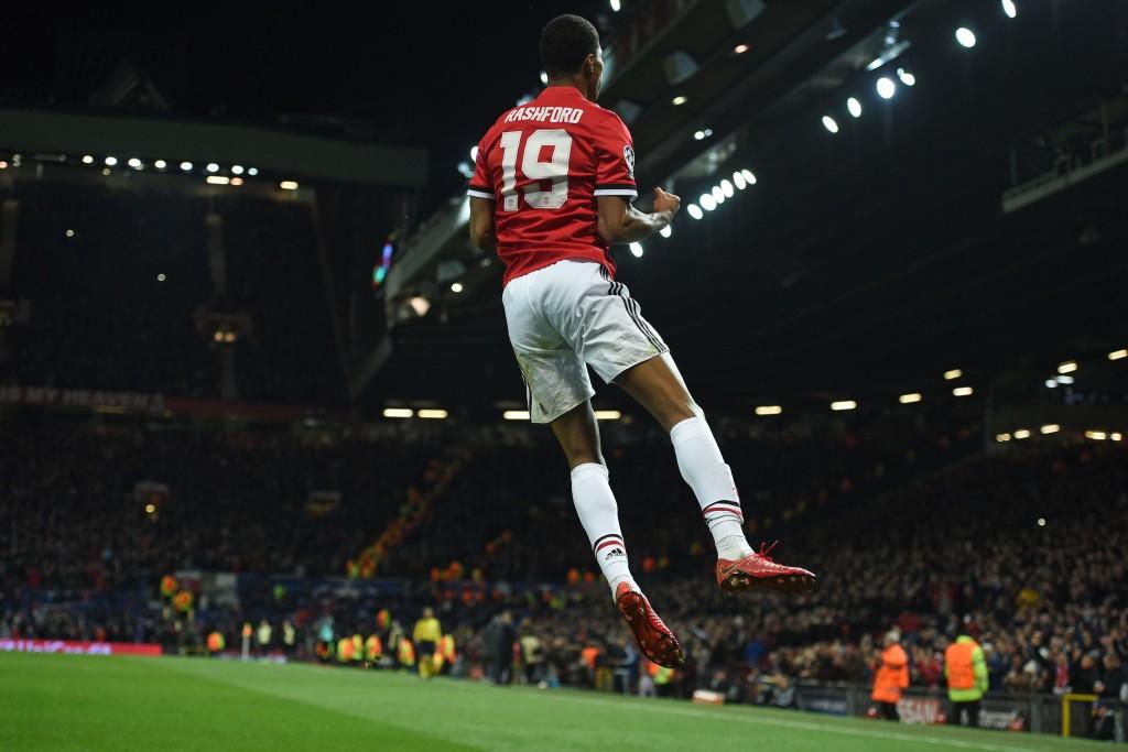 Yahya trained alongside Manchester United forward Marcus Rashford