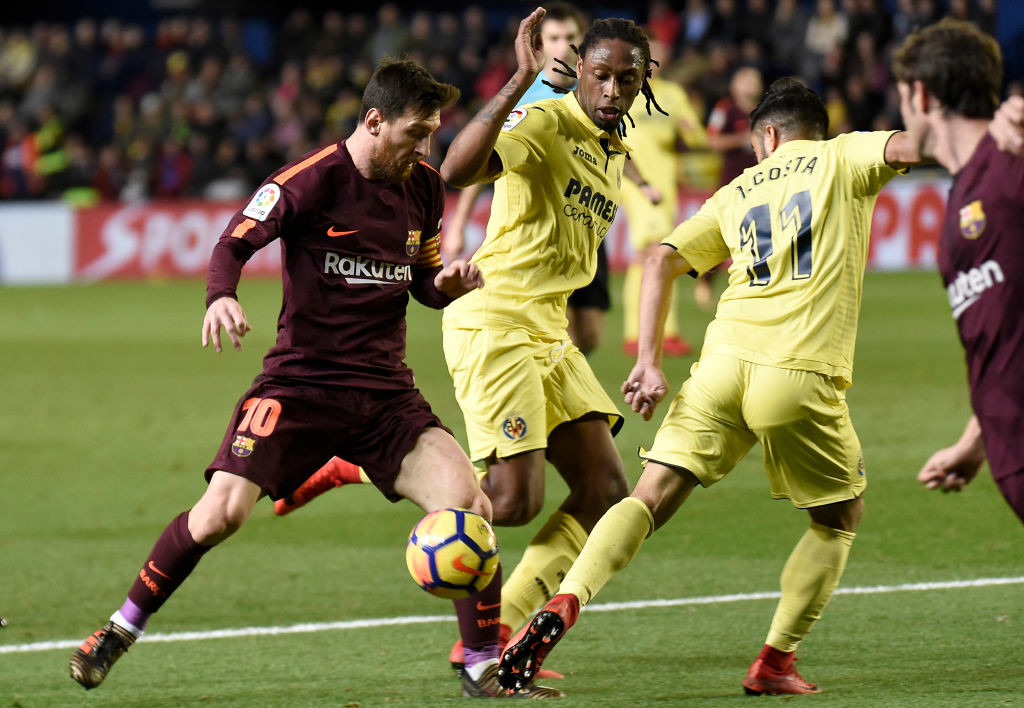 Villareal try to contain Messi