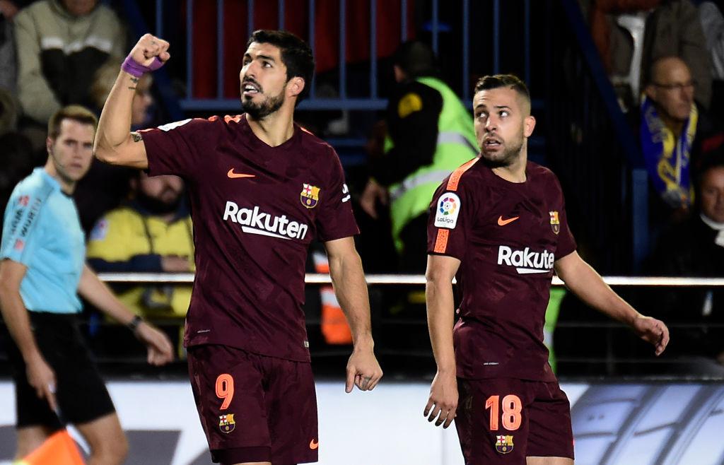 Luis Suarez is back amongst the goals.