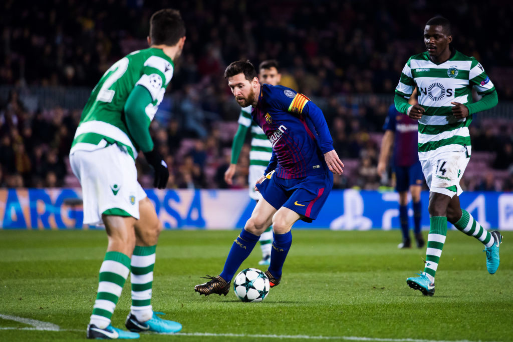 The Messi-led Barcelona topped their group over Juventus.