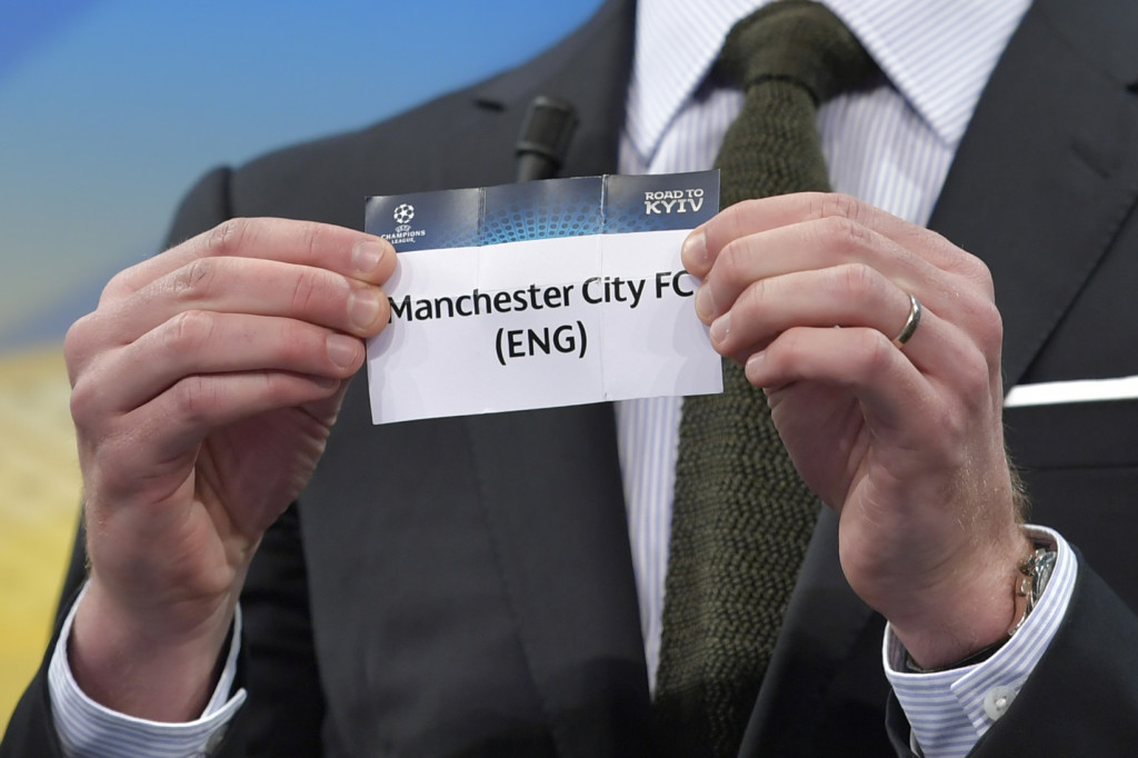 City will face FC Basel in the Champions League last-16