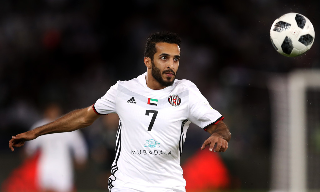 Ali Mabkhout is a picture of focus against Madrid