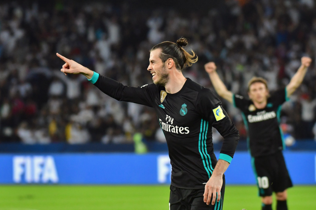 Gareth Bale scored the winner as Real Madrid beat Al Jazira in the Club World Cup semi-final last December.