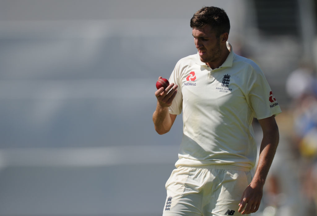 Curran will take the place of the injured Craig Overton.