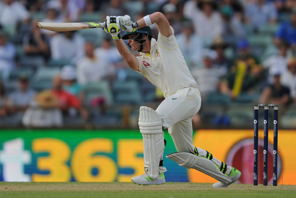 Smith was at his fluent best in a counter-attacking innings.