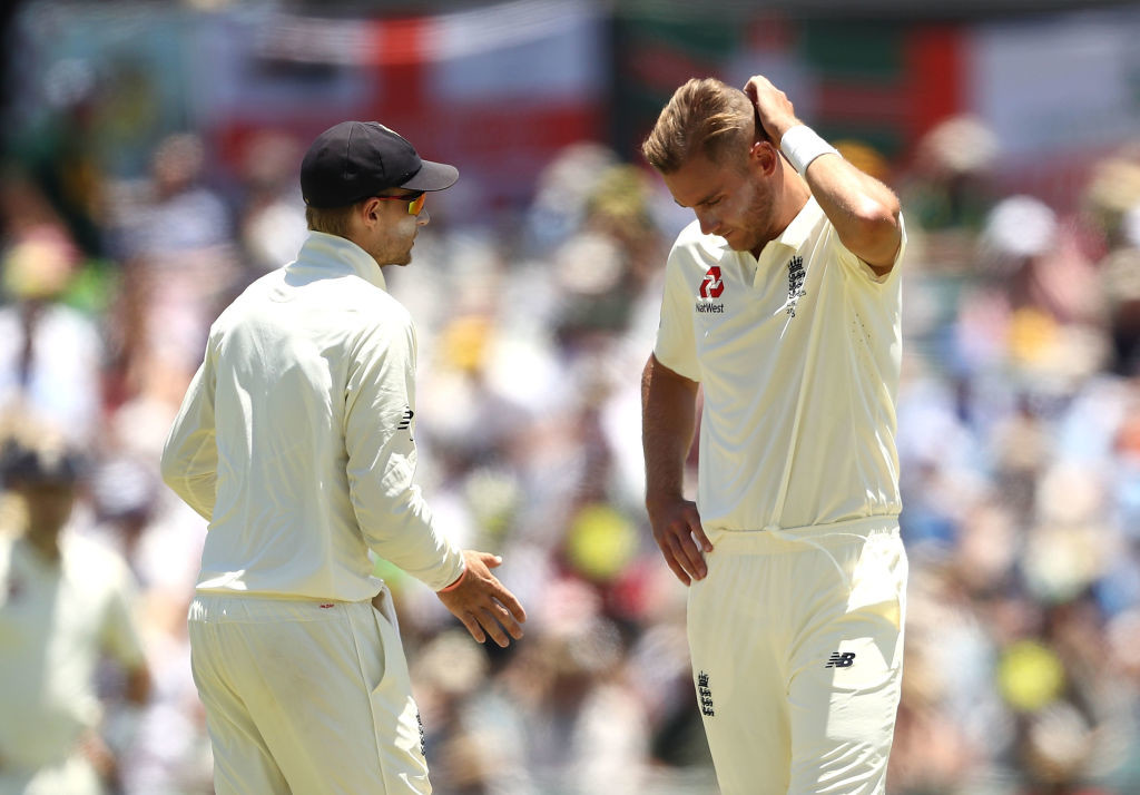 Broad recorded his worst bowling figures in Tests.
