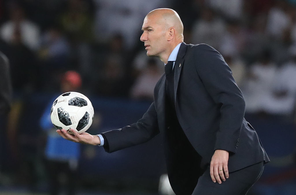 Zidane led Real Madrid to five trophies in 2017.
