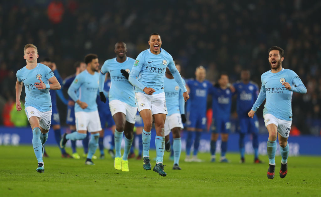 City's fringe players have impressed in the Carabao Cup.
