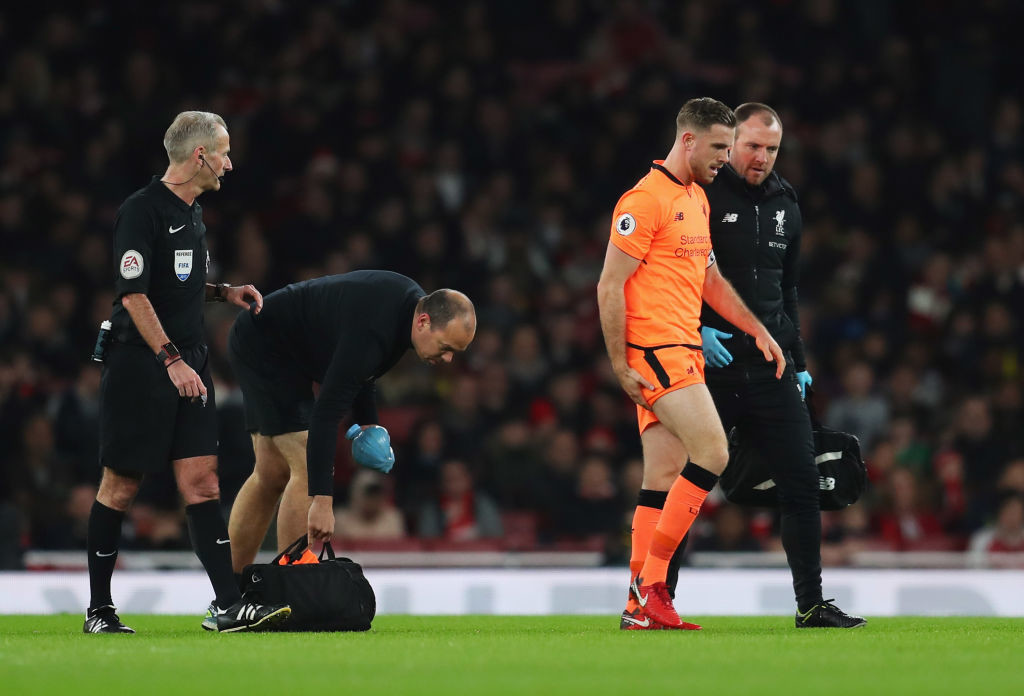 Henderson has been ruled out of the clash against Swansea City.