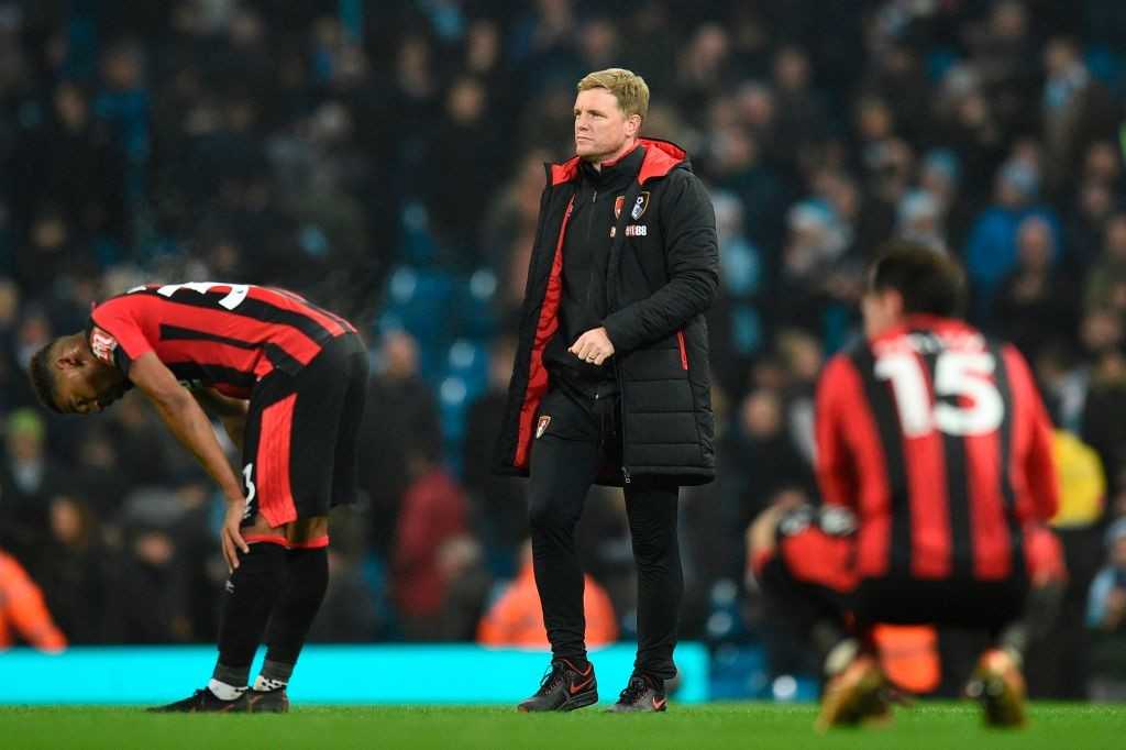 Eddie Howe's Bournemouth are in free-fall.