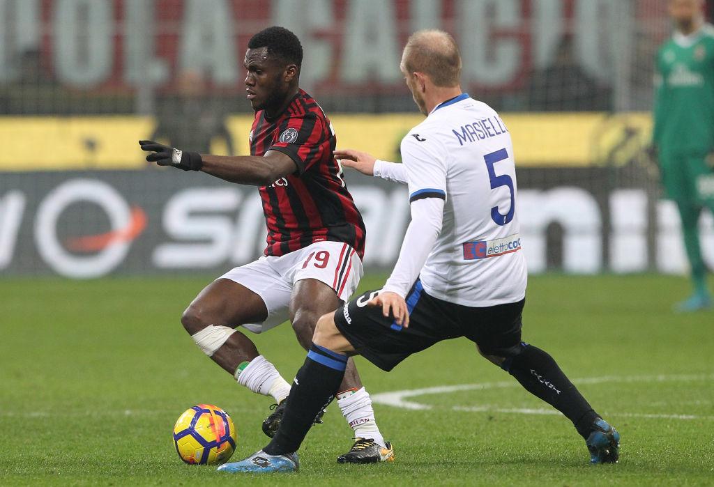 Kessie failed to impress for Milan against Atlanta.