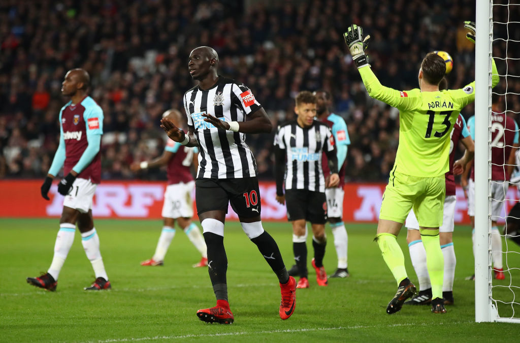 Diame's first-goal since February ended Newcastle's win-less run.