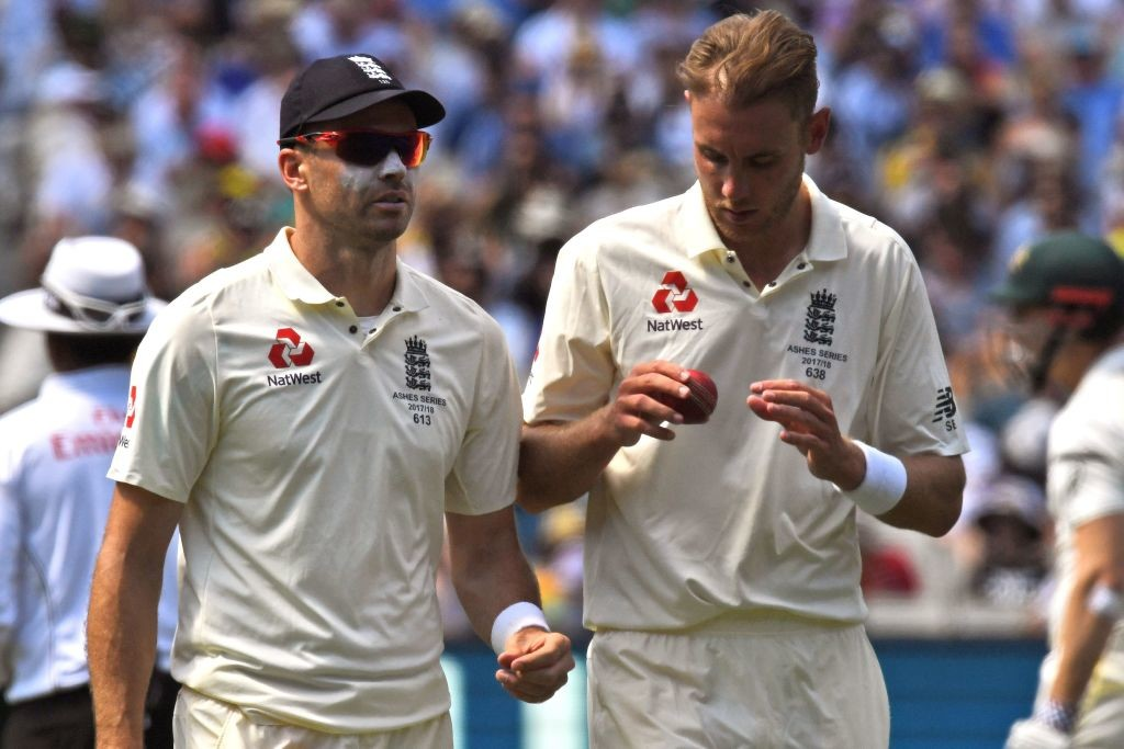 Anderson dismissed Warner for his 519th Test scalp.