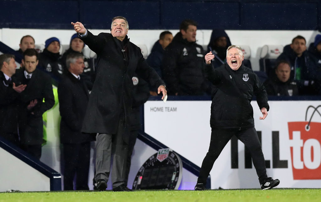 Sam Allardyce and his staff have breathed new life into Everton