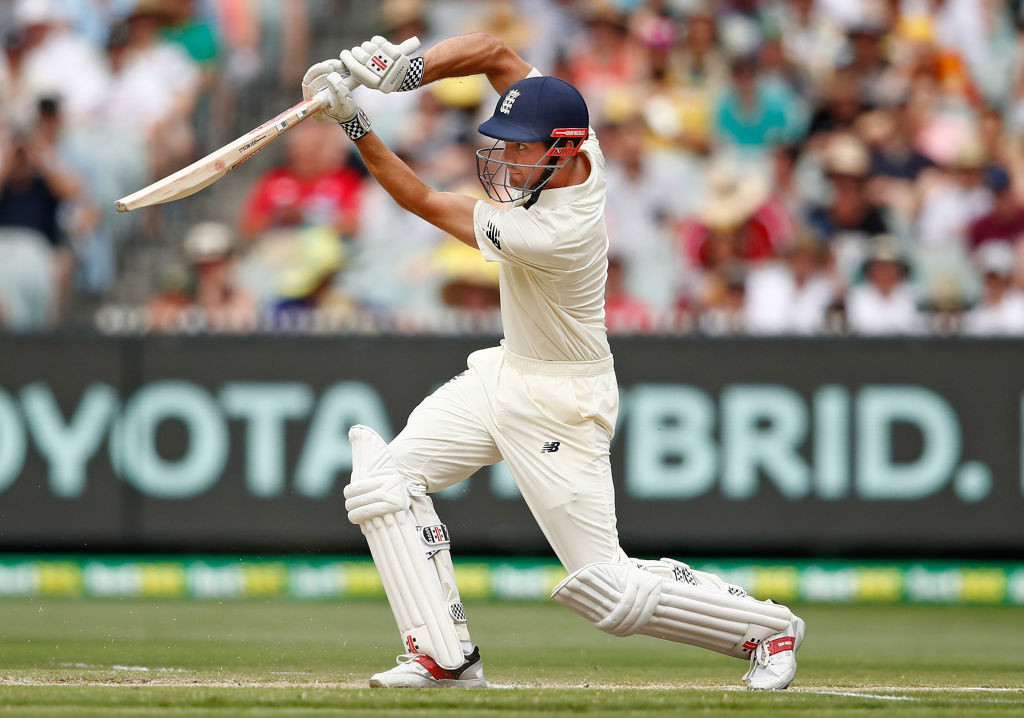 The drives through the off-side flowed from Cook's bat on Thursday.