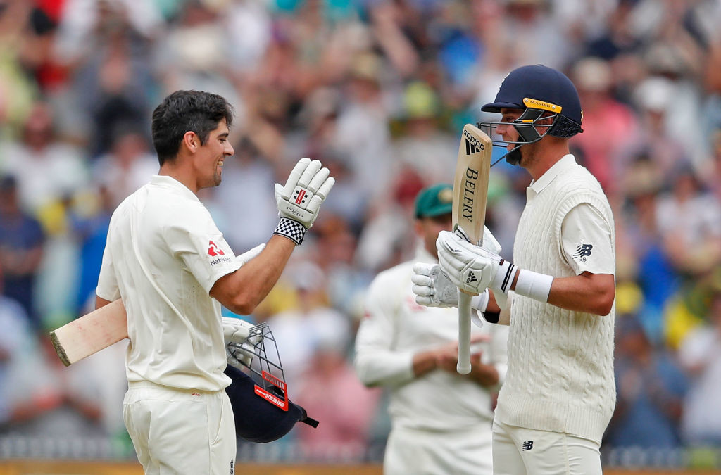 Cook's 100-run stand with Broad broke Australia's backs.