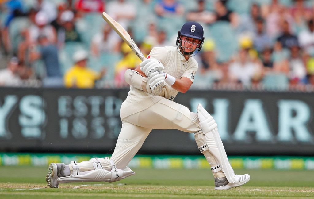 MELBOURNE, AUSTRALIA - DECEMBER 28: Stuart Broad of England bats during day three of the Fourth Test Match in the 2017/18 Ashes series between Australia and England at Melbourne Cricket Ground on December 28, 2017 in Melbourne, Australia. (Photo by Scott Barbour/Getty Images)