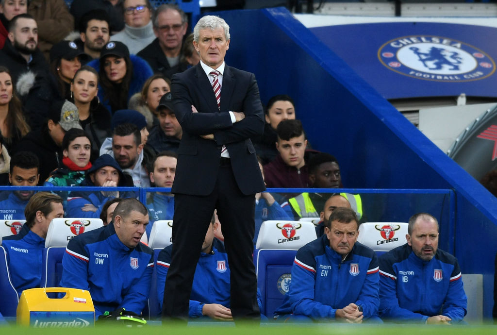 Mark Hughes' big gamble at Chelsea has him walking on thin ice.
