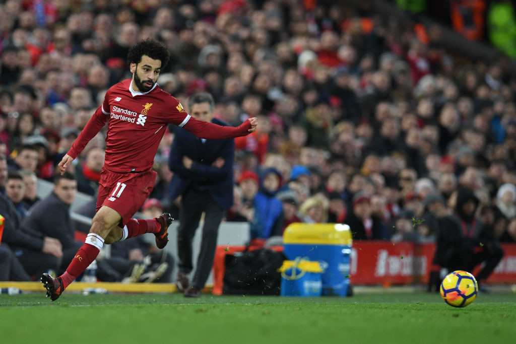 Mo Salah and Liverpool are fast emerging as the best of the rest.
