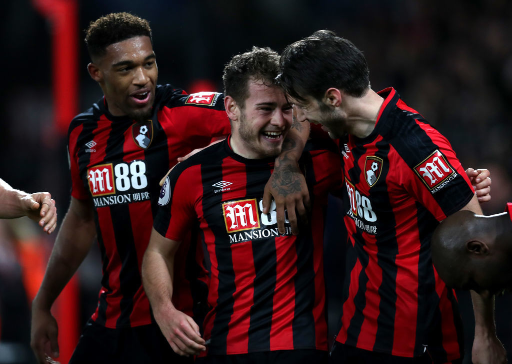 Bournemouth have at last climbed out of the relegation zone.