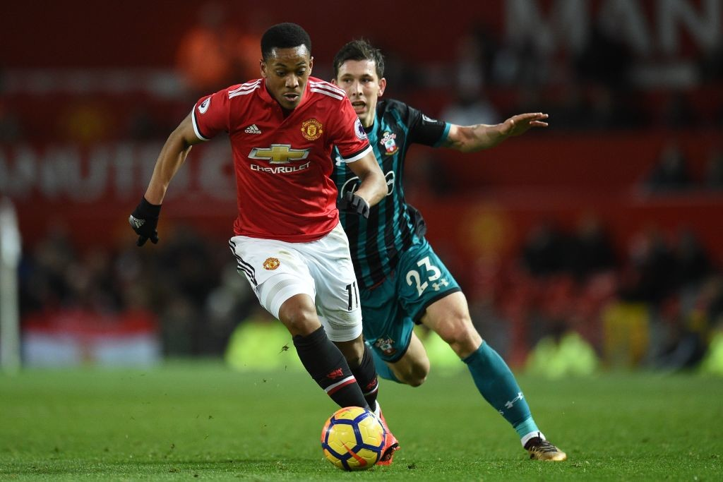 Martial has earlier spoken about wanting to play as a central striker.