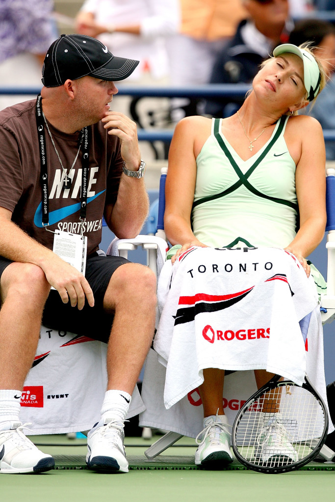 Joyrce worked with Sharapova for many years.