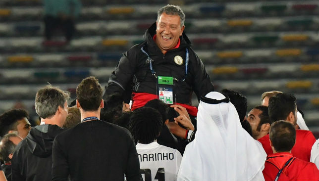 Ten Cate has led Wahda into the Champions League knockouts, while he also won the AGL title with Al Jazira in 2016/17.