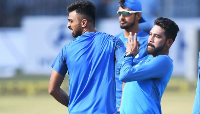 Siraj and Unadkat will feature at some point in the series.