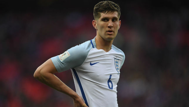 A key figure in England's defence: John Stones