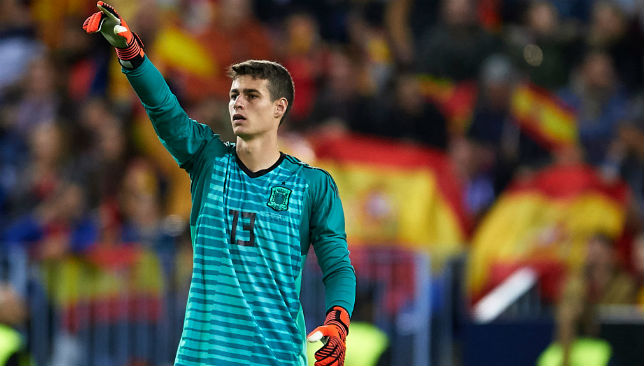 Kepa wants to keep hold of his place at Bilbao.