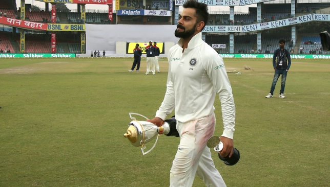 Kohli has led India to a record year in terms of results.