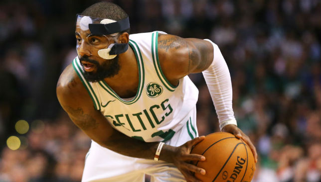 In action: Kyrie Irving