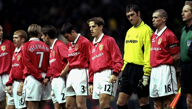 How man city compare to man united 39 s 1998 99 treble for Epl table 1998 99