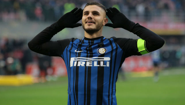 Primed for a move: Mauro Icardi.