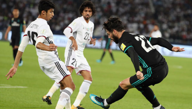 Mohammed Al Attas (l) has emerged as a superb prospect for club and country.
