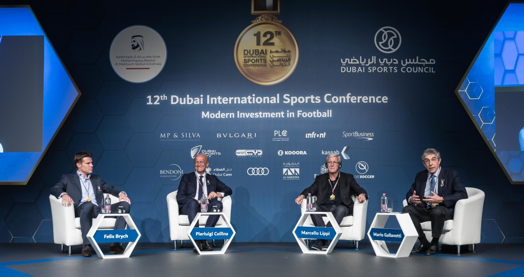 The panel discussed the impact of technology on football development.
