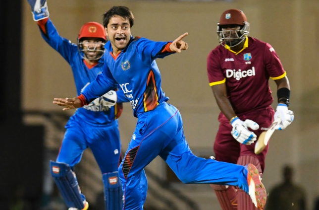 Rashid's spell of 7-18 blew away the West Indies earlier in the year.