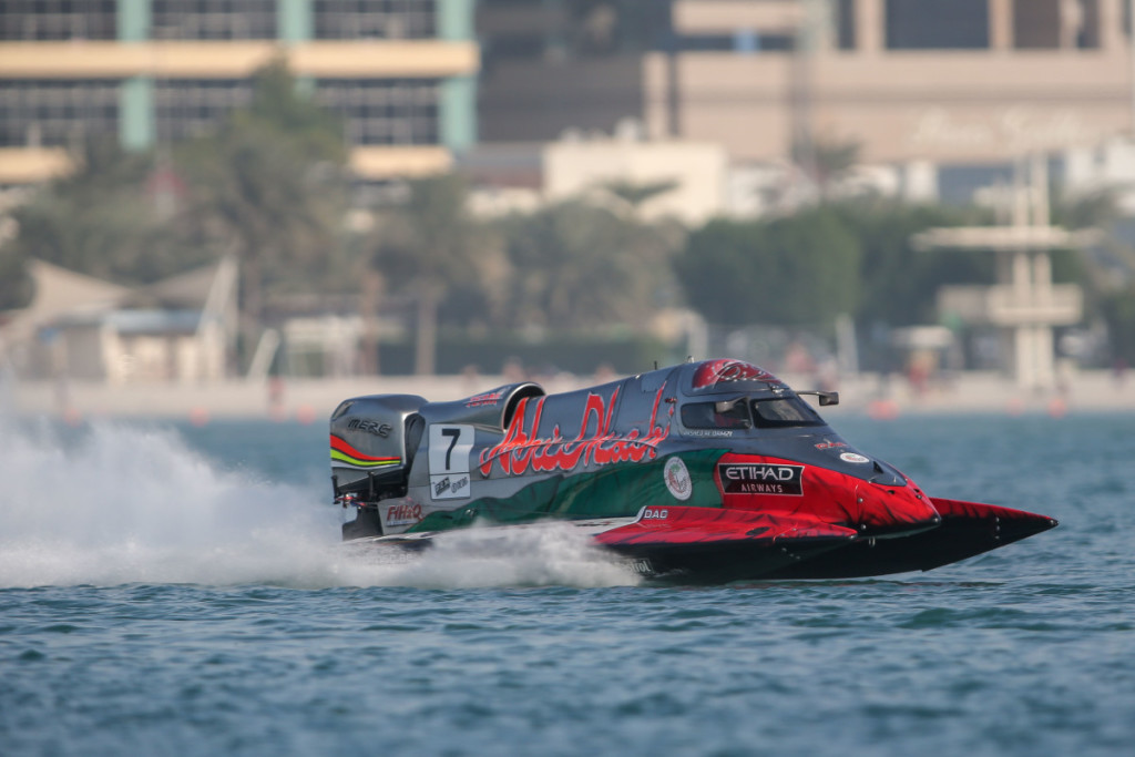 Rashed Al-Qemzi did well to qualify in the eighth position.
